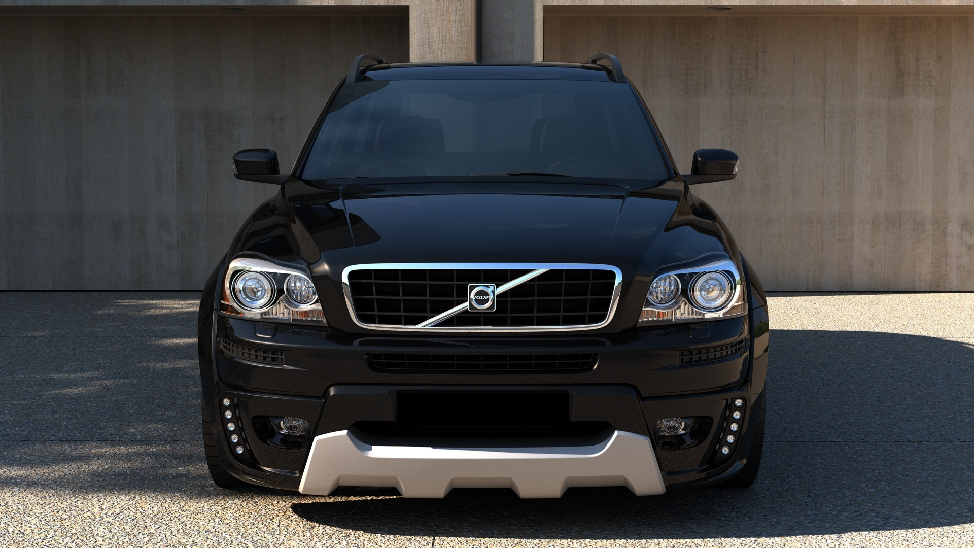 volvo xc90 wide bodykit blp. Black Bedroom Furniture Sets. Home Design Ideas